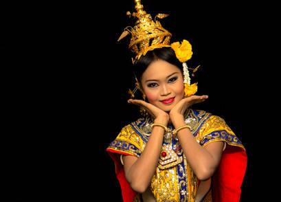 Thailand klassische Tänzerin